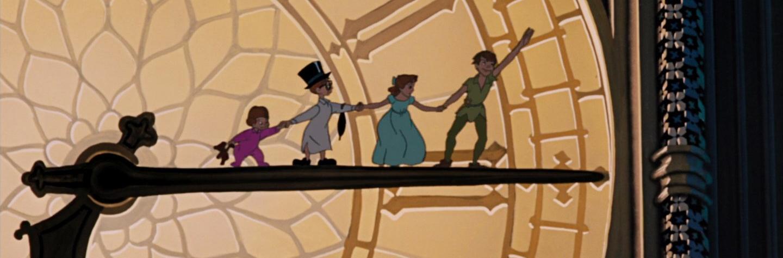 Disney Tinkerbell Keyhole Magic Top Fee Neverland The Lost Boys Captain Hook